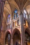 EINDHOVEN, holandie - SIERPIEŃ 30, 2016: Wnętrze Świątobliwy Catherina kościół w Eindhoven, Netherland obraz royalty free