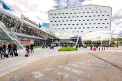 Eindhoven lotnisko Obrazy Royalty Free