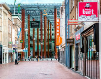 Eindhoven main commercial street Royalty Free Stock Photo