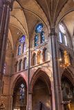 EINDHOVEN, NEDERLAND - AUGUSTUS 30, 2016: Binnenland van Heilige Catherina Church in Eindhoven, Netherland royalty-vrije stock afbeelding