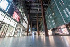 EINDHOVEN, NETHERLAND - OCTOBER 17, 2017: Eindhoven Cityscape. Shopping Mall Exterior. Eindhoven Cityscape. Shopping Mall Exterior Royalty Free Stock Photography