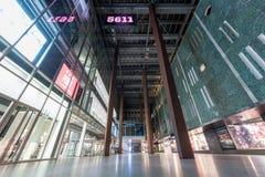 EINDHOVEN, NETHERLAND - OCTOBER 17, 2017: Eindhoven Cityscape. Shopping Mall Exterior. Eindhoven Cityscape. Shopping Mall Exterior Stock Images