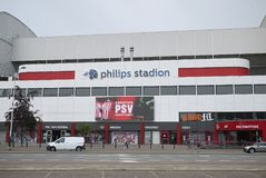 View of Philips stadion stock photos