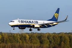 Ryanair Boeing 737 airplane Royalty Free Stock Photo