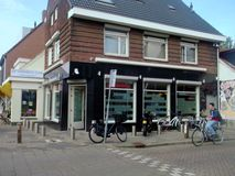 Coffeeshop Eurogarden in Eindhoven, The Netherlands Royalty Free Stock Photography