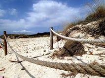Eindrücke auf dem Strand - Mallorca Spanien stockfoto