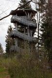 Eindrücke vom Nationalpark in Ludwigsthal-Bayern lizenzfreies stockbild