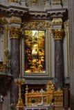 Eindrücke von Berlin Cathedral, Bewohner von Berlin Dom, Deutschland Stockfotografie