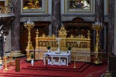 Eindrücke von Berlin Cathedral, Bewohner von Berlin Dom, Deutschland Lizenzfreies Stockbild