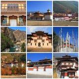 Eindrücke von Bhutan stockfotografie