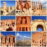Eindrücke von Jordanien lizenzfreies stockfoto
