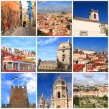 Eindrücke von Lissabon stockbild