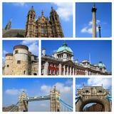 Eindrücke von London Stockbild