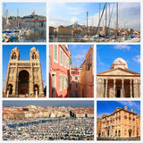 Eindrücke von Marseille lizenzfreie stockbilder