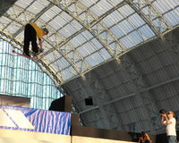 Eindringen-große Luft-Konkurrenz (London) Stockfoto