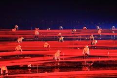 Eindruck Sanjie Liu stockfotografie