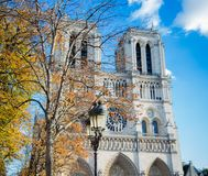 Eindruck von Notre Dame, Paris stockfoto
