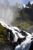 Eindrucksvoller Wasserfall, Norwegen. Lizenzfreies Stockfoto