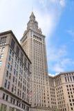 Eindtoren, Cleveland stock fotografie