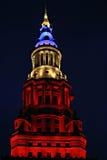 Eindtorenwolkenkrabber in Cleveland, Ohio royalty-vrije stock foto