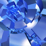 Eine abstrakte Abbildung Lizenzfreies Stockbild