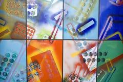Eine abstrakte Dekoration. Stockfoto