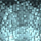 Eine abstrakte Würfelauslegung - ein Bild 3d Lizenzfreies Stockbild