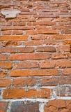 Eine alte Backsteinmauer   Lizenzfreie Stockfotografie