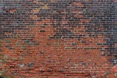 Eine alte Backsteinmauer Stockfotos