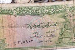 Eine alte Banknote Lizenzfreie Stockfotografie