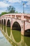 Eine alte Brücke Stockbild