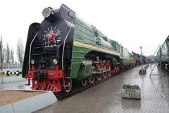 Eine alte Dampf Lokomotive Stockbild