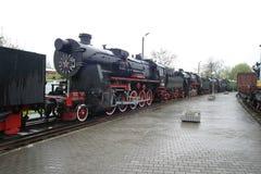 Eine alte Dampflokomotive Stockfotografie
