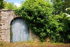Eine alte Holztür Lizenzfreie Stockfotos