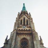 Eine alte Kirche stockfoto