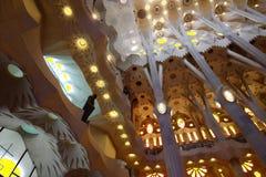 Eine alte Kirche in Spanien Stockbilder