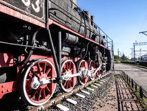 Eine alte Lokomotive Lizenzfreies Stockfoto