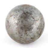 Eine alte Metallkugel Stockbild