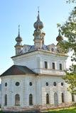 Eine alte Russisch-Orthodoxe Kirche Stockfotografie