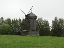 Eine alte russische Mühle Stockfotos