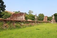 Eine alte Stadt von Ayutthaya Stockfotografie