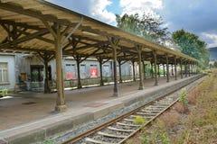 Eine alte Station Lizenzfreie Stockbilder
