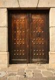 Eine alte Tür Stockfoto