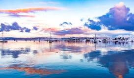 Eine andere Ansicht des Spürhund-Kanals Lizenzfreie Stockbilder