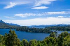 Eine andere Ansicht von Bariloche Lizenzfreies Stockfoto