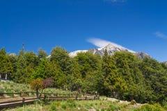 Eine andere Ansicht von Bariloche Lizenzfreies Stockbild