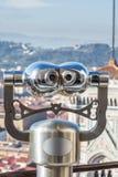 Eine Ansicht über die Stadt von Florenz von den Kathedralendi Santa Mar Stockbilder