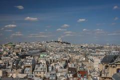 Eine Ansicht über Paris Stockfotos