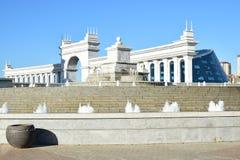 Eine Ansicht in Astana lizenzfreie stockfotografie