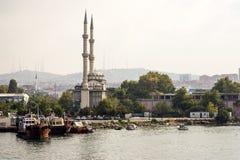 Eine Ansicht der anatolischen Seite von Istanbul Lizenzfreie Stockfotos